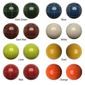 Personalized Bocce Ball Set Thumbnail