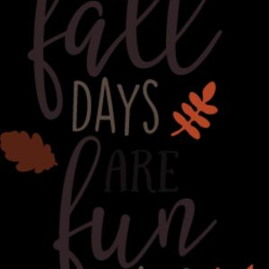 Fall Days are Fun Days SVG Thumbnail