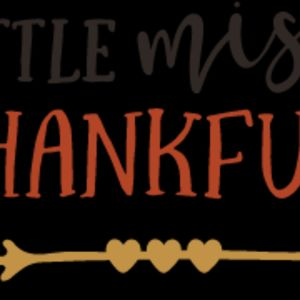 Little Miss Thankful SVG Thumbnail
