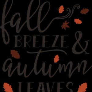Fall Breeze and Autumn Leaves SVG Thumbnail