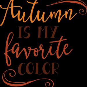 Autumn Is My Favorite Color SVG Thumbnail